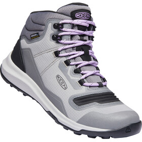 Keen Tempo Flex Mid WP Shoes Women, steel grey/african violet